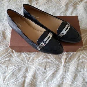 Coach Ruthie Pebble Grain Leather Loafers